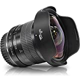 Altura Photo 8mm f/3.0 Professional Ultra Wide Angle Aspherical Fisheye Lens for Canon EOS 90D 80D 77D Rebel T8i T7 T7i T6i T6s T6 SL2 SL3 DSLR Cameras