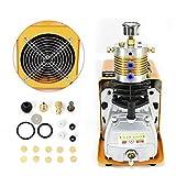 Anciun 30MPA Bomba de compresor de alta presión, autoapagado, bomba de aire eléctrica PCP, bomba de aire de alta presión para pruebas de alta presión, botellas, automóviles, 1800 W