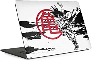 Skinit Decal Laptop Skin for MacBook Pro 13-inch with Touch Bar (2016-19) - Officially Licensed Dragon Ball Z Goku Wasteland Bold Design