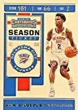 SHAI GILGEOUS-ALEXANDER Basketball Card - 2019-20 Panini Contenders Season Ticket Basketball Card - 1st Year Oklahoma City Thunder Card