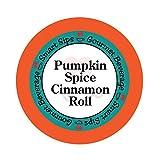 Smart Sips, Pumpkin Spice Cinnamon Roll Coffee, 24 Count, Medium Roast, Single Serve Pods For Keurig K-cup Brewers