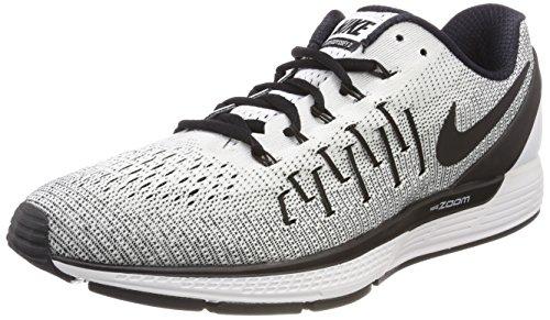 Nike Herren Air Zoom Odyssey 2 Laufschuhe, Weiß (Blanc/Noir 100), 44.5 EU