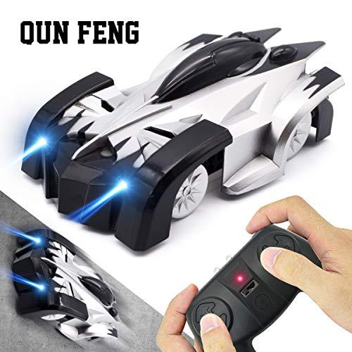 QUN FENG ミニウォールクライマークライミング RCカー ラジコン 壁・天井・床 吸着 ラジコン おもちゃ
