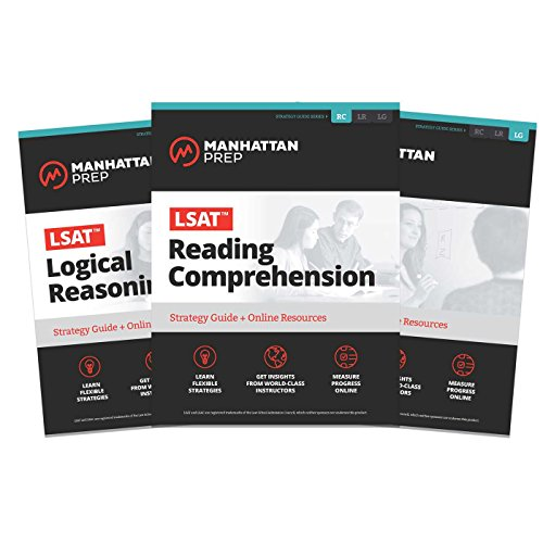 LSAT Strategy Guide Set (Manhattan Prep LSAT Strategy Guides)