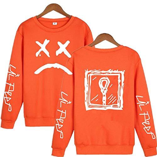 LLYTX Hoodie Lil Peep Herren Damen Kinder Pullover Hoodless Sweater und Fleece Winter Sweater Street Sweatshirt-CYT-5_L