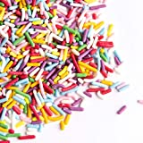 Sweets Indeed Natural Sprinklefetti - Natural Rainbow Sprinkle Mix - No Artificial Colors or Flavors - Gluten-Free Color Sprinkles for Baking - 5.5 ounces