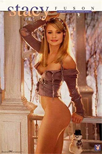 Playboy Playmate Stacy F.uson 1999 Poster (Art Canvas Framed Poster, 8x10)