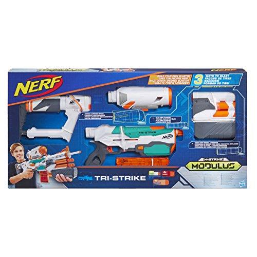 Hasbro B5577EU4 Nerf Modulus Tri Strike, Blaster...