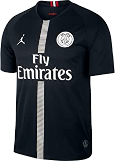 NIKE Paris Saint-Germain Air Jordan Men s Third Jersey 2018-2019 Black 2d8096d82
