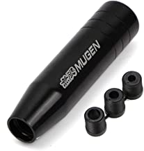 Generic Universal Gear Shift Knob For Honda Aluminum Manual Racing Lever Stick Cover Black