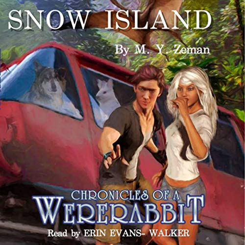 Snow Island audiobook cover art