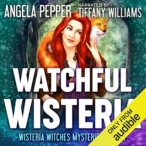 Watchful Wisteria audiobook cover art