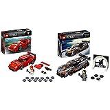 LEGO Speed Champions Ferrari F40 Competizione, 75890 & Speed Champions McLaren Senna, 75892