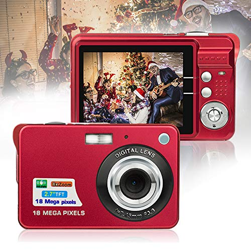 HD Mini Digital Cameras for Kids Teens Beginners,Point and Shoot Digital Video Cameras-Travel,Camping,Gift