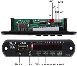 5V 12V MP3 Module Decoder Board USB AUX 3.5MM WMA FM TF Radio Audio with Remote Music Speaker for Car Wholesales NO Bluetooth Other