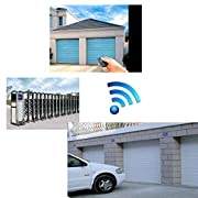 Bobury-Control-Remoto-inalmbrico-de-4-Canales-de-RF-433-MHz-Puerta-Puerta-automtica-Mando-a-Distancia-Llave-Fob