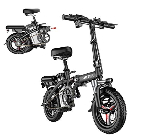 Electric Bike for Adult & Youth - Folding Electric Dirt Bike for Outdoor City Commuter | 250W Ebike w/LCD Display, 14 Inch, 3 Mode, Lightweight | Foldable Electric Bicycle, E-Bike Scooter