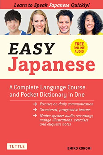 Easy Japanese: Learn to Speak Japanese Quickly! (With Dictionary, Manga Comics and...