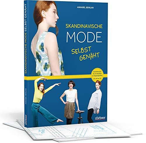 Skandinavische Mode selbst genäht. Schnittmuster für 24 Modelle in Originalgrößen von 36 bis 42