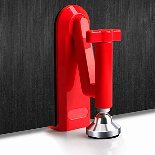 Door Security Devices Portable Door Stopper Jammer Door Lock Brace for Bedroom Hotel Home Bar and Personal Protection Device Lockdown, That Lets You Lock Any Door Durable by Balai