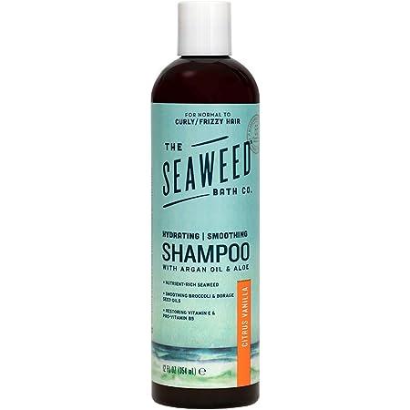 The Seaweed Bath Co. Citrus Vanilla Argan Shampoo, 12 Fl Oz (700-120-SHCT)