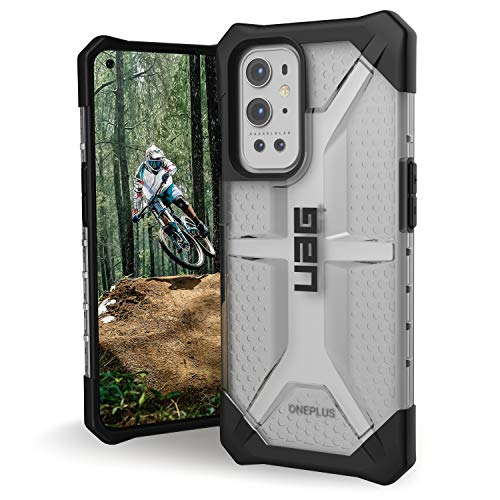 Urban Armor Gear UAG OnePlus 9 Pro Case, Plasma Rugged Translucent Ultra-Thin Protective Case/Cover Designed for OnePlus 9 Pro / OP9 Pro (LE2123, 2021) (Military Drop Tested) - Ice