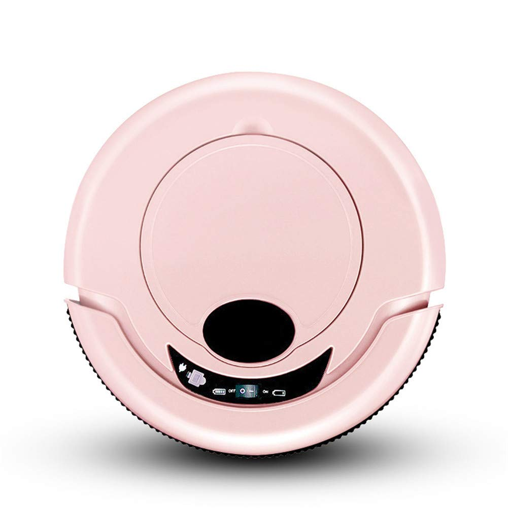 Robótica Aspiradora con Trapo Limpiador Inteligente Robot Aspiradora para Hogar Inalámbrico Aspirador Robot,Pink: Amazon.es: Hogar
