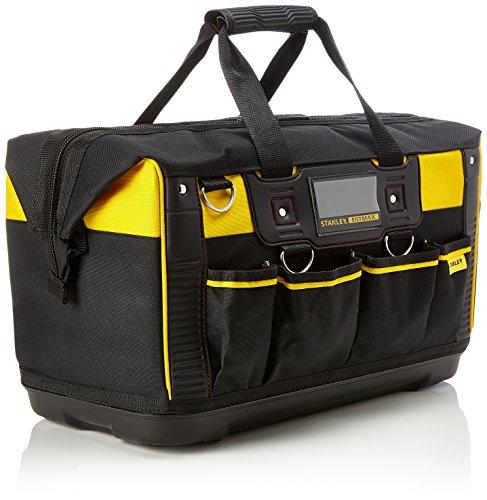 Stanley FatMax Werkzeugtasche / Transporttasche (50x30x29cm, schlagfester Boden, Aufbewahrungstaschen im Inneren, große Öffnung für leichten Zugang, aus robustem Material) FMST1-71180 - 2