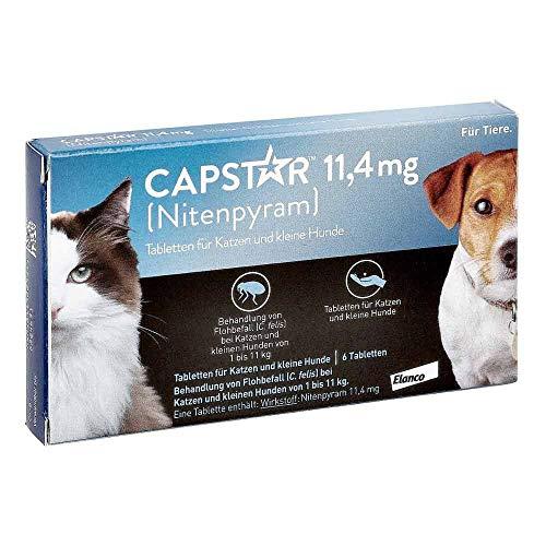 CAPSTAR 11,4 mg Tabletten f.Katzen/kleine Hunde 6 St