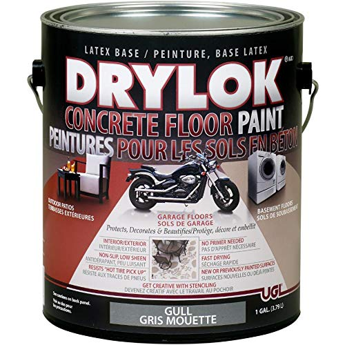 3.79L Gull Latex Concrete Floor Paint