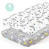 Stretchy-Pack-n-Play-Playard-Sheets-Brolex 2 Pack Portable Mini Crib...