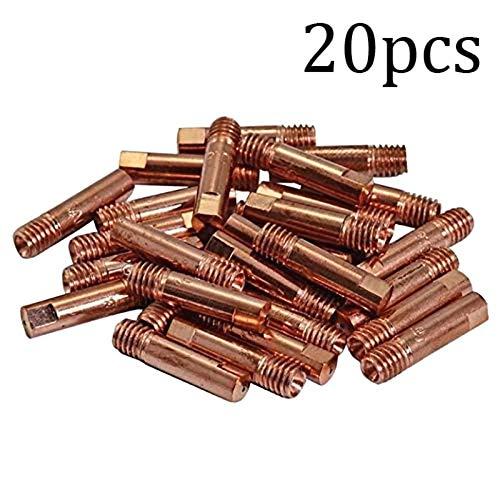 21 PCS MB-15AK MIG//MAG Welding Torch Contact Tip 1.2mm Gas Nozzle 145.0075