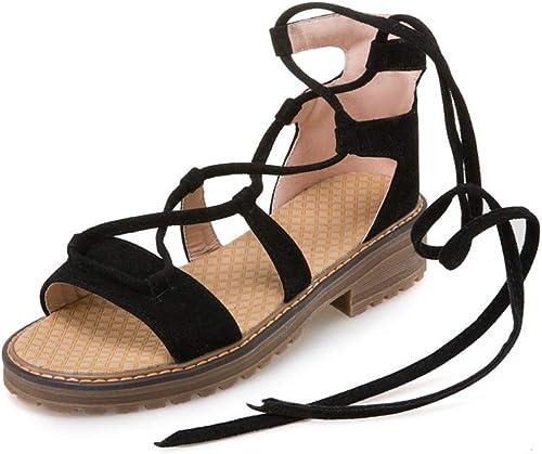 HommesGLTX Talon Aiguille Talons Hauts Sandales Nouvelle Arrivée Femmes Sandales Simple Chaussures D'été Couverture Talon Croix Attaché Décontracté Chaussures Talons Carrés Chaussures Femme