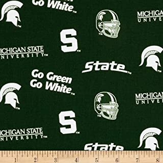 Best michigan state fabric by the yard Reviews