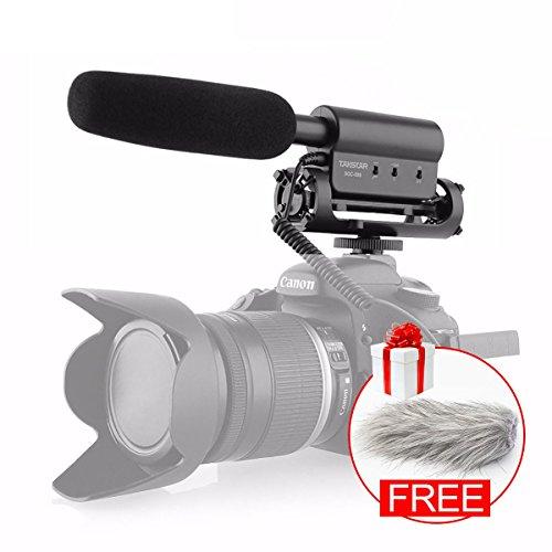 Takstar SGC-598 Micrófono estéreo para cámara de vídeo Digital Canon Nikon...