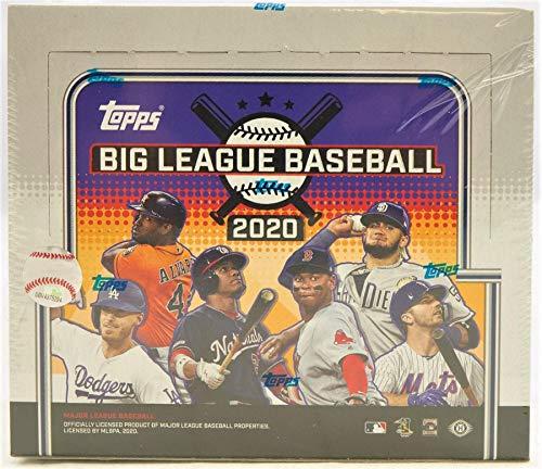 2020 Topps Big League Baseball Hobby Box (18 Packs/10 Cards)