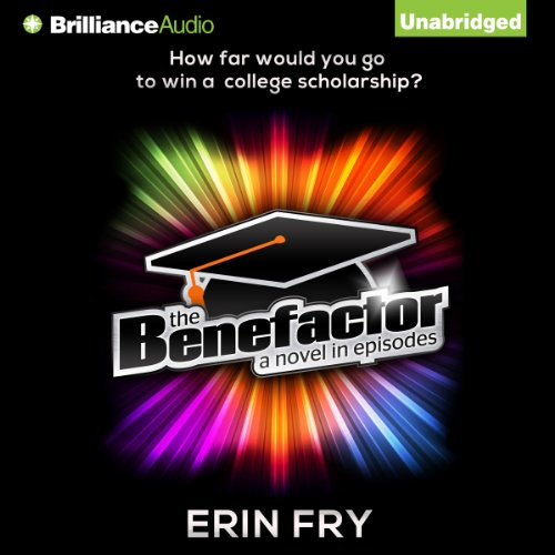 The Benefactor audiobook cover art