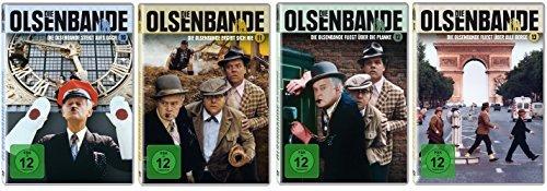 Die Olsenbande (HD-Remastered) - Box 10 - 13 im Set - Deutsche Originalware [4 DVDs]