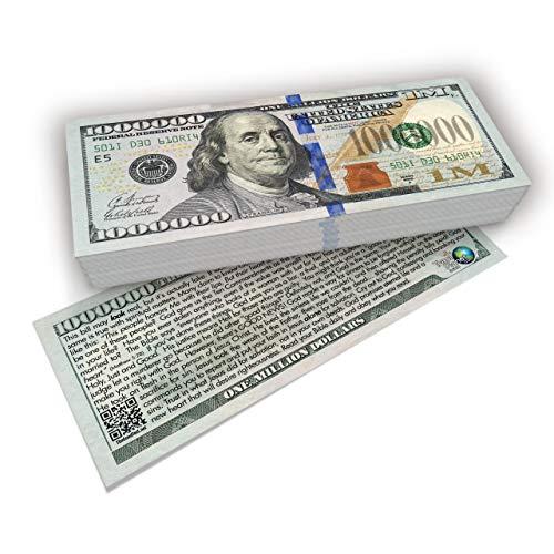 Franklin Million Dollar Bill Gospel Tract (Pack of 100, ESV)