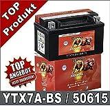 Moto Batterie 7Ah ytx7a-4-BS Winner AGM Gel gtx7a-bs de BS, ftx7a BS 50615bannière