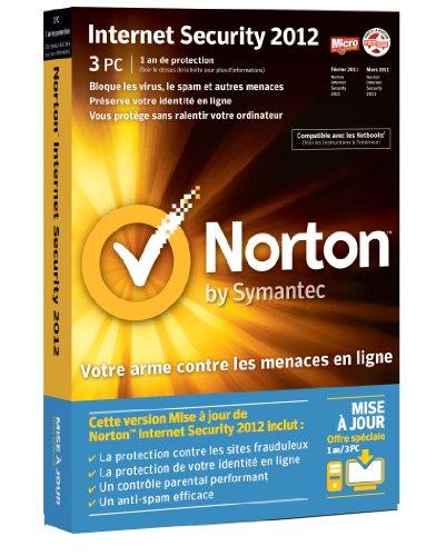 Norton internet security 2012 (3 postes, 1 an) - mise à jour