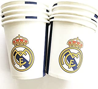Real Madrid FC Birthday Party Decoration Cups bag of 10
