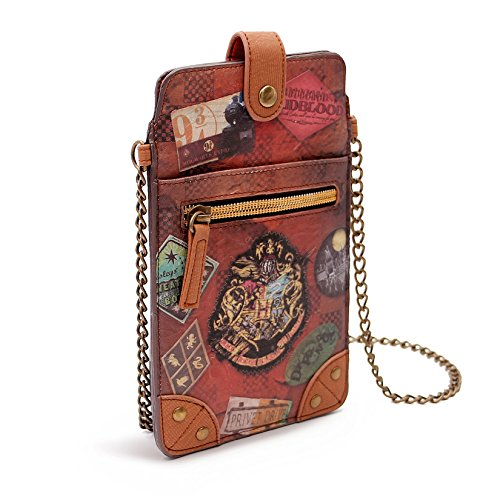 Karactermania Harry Potter Railway Bolsos Bandolera, 18 cm, Marrón
