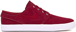 Men's Zoom Stefan Janoski Skate Shoe (10 M US, Team Crimson/Team Crimson)