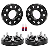 FLYCLE 4 PCS 1 Inch 5x4.5 Wheel Spacers 1/2-20 Studs&82.5mm Bore Compatible with 1987-2006 TJ YJ,1982-2012 Ranger,1990-2018 Explorer