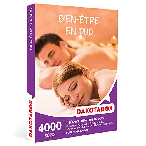 DAKOTABOX - Bien-être en duo - Coffret Cadeau Bien-être - 1 séance bien-être pour 2 personnes