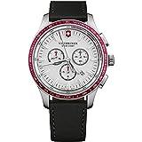 Victorinox Uomo Alliance Sport - Orologio cronografo in acciaio inossidabile fabbricato in Svizzera...