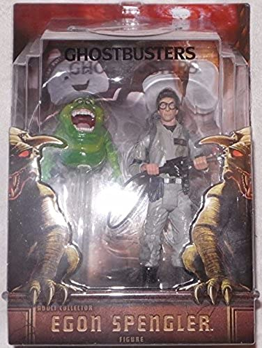 Ghostbusters 16cm Figure  Egon Spengler with Slimer by Mattel