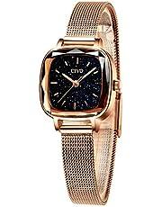 [チーヴォ]CIVO レディース腕時計 ステンレス防水ウオッチ クオーツ時計金属 シンプル watch for women おしゃれ 綺麗 かわいい 淑女 女性腕時計メタル