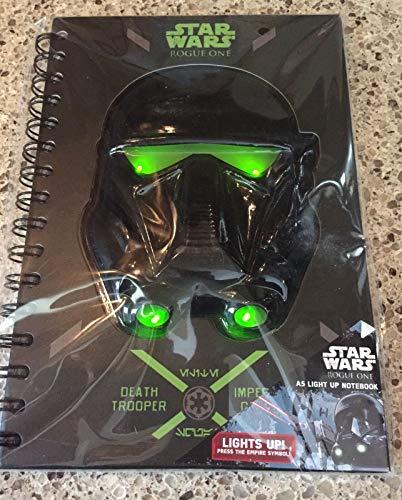 Unbekannt Notebook Ringhefter Notizbuch Star Wars Roque One Darth Vader Format A5 mit Licht